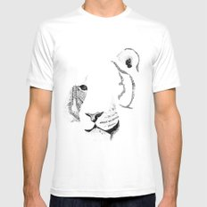 Amur Tiger - Can You See How Much Is Left? Mens Fitted Tee White MEDIUM