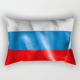 Russian Federation Flag Rectangular Pillow