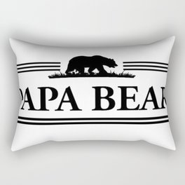 Papa bear Rectangular Pillow