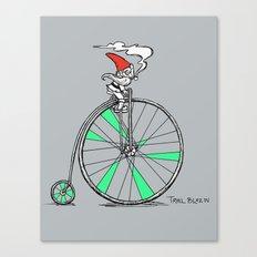 Trail Blazing Gnome Canvas Print