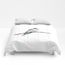 Gray Jay by Teresa Thompson Comforters