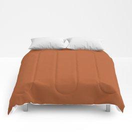 Copper #B2592D Comforters