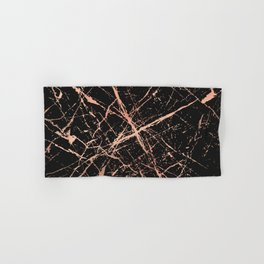 Copper Splatter 091 Hand & Bath Towel