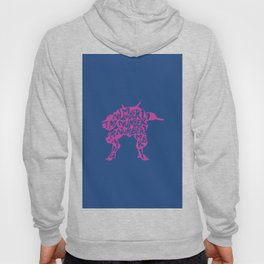 Dva type illustration Hoody