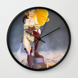 Say kitchen again, I dare you. Wall Clock