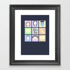 The Addams Family  Framed Art Print