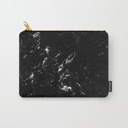 Black Marble #4 #decor #art #society6 Carry-All Pouch