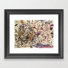 Gummy Bear Dance Revolution Framed Art Print