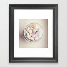 JAR OF LOVE Framed Art Print