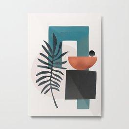 Abstract Shapes 07 Metal Print