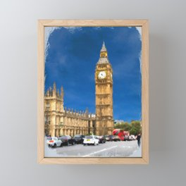 Parliament Building Framed Mini Art Print