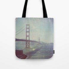 Golden Gate - Polaroid Tote Bag