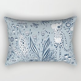 Many Happy Hours in the Garden Rectangular Pillow