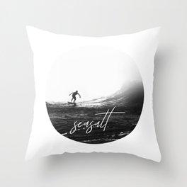 Seasalt Throw Pillow