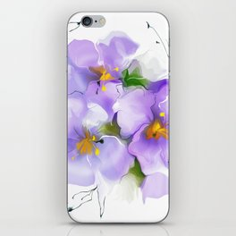first violet iPhone Skin