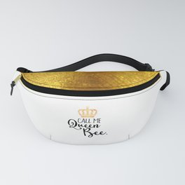 Queen Bee Funny Quote Fanny Pack