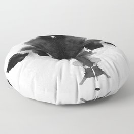 Form Ink Blot No. 29 Floor Pillow