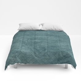 Green Ocean - Solid color accessories and Fashion Comforters