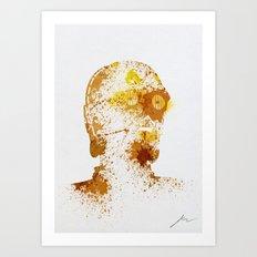 Protocol Droid Art Print