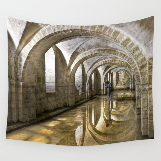 Winchester Cathedral Crypt Wall Tapestry