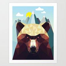 Bear Mountain  Art Print