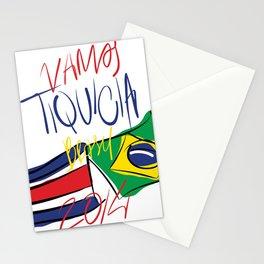 VAMOS TIQUICIA  Stationery Cards