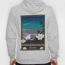 Kaskasapakte Sweden travel poster Hoody