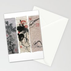 A novel in three chapters Stationery Cards