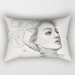 Thougths Rectangular Pillow