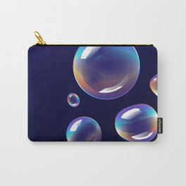 Holographic Bubbles Carry-All Pouch