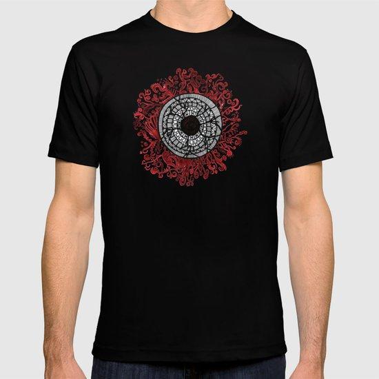breaking own shields T-shirt