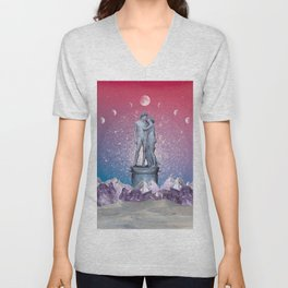 STAR CROSSED LOVERS Unisex V-Neck