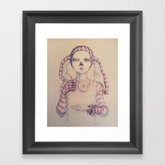 Tea? Framed Art Print