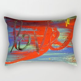 Love is Bold Rectangular Pillow
