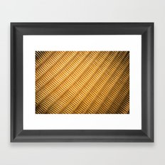 Chair with Mesh Framed Art Print