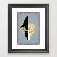 Wicked | Frame Framed Art Print