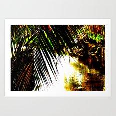 Extra Vivid Stream Art Print
