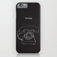 Vintage Telephone Negative iPhone 6 Slim Case