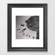 Sideshow Alley Framed Art Print