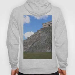 Chichen Itza Temple of Kukulcan south-west View Hoody
