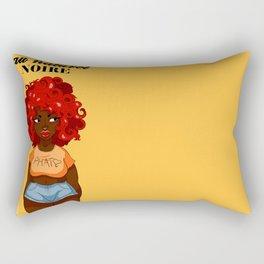 Au Naturel Noire Rectangular Pillow