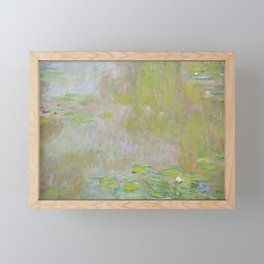 Water Lily Pond by Claude Monet Framed Mini Art Print