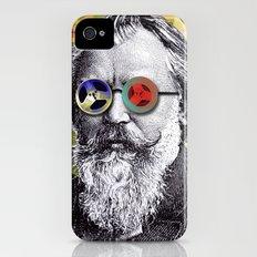 Brahms in Reel to Reel Glasses Slim Case iPhone (4, 4s)
