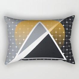 London - Abstract Sunset Rectangular Pillow