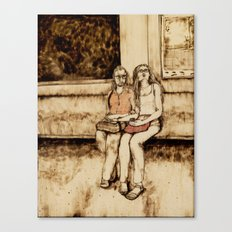 Weekend Together Canvas Print