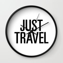Just travel Wall Clock