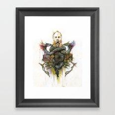 The Antagonist Framed Art Print