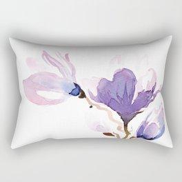 Magnolias at night Rectangular Pillow