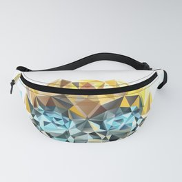 Bumblebee Low Poly Portrait Fanny Pack