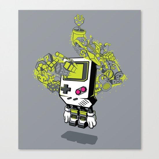 Pixel Dreams Canvas Print
